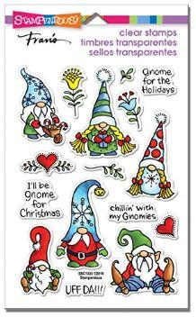 Holiday Gnomes Clear Stamp Set