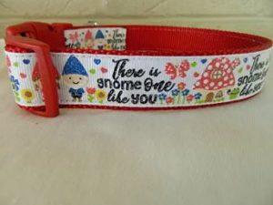 There is Gnome One Like You Dog Collar