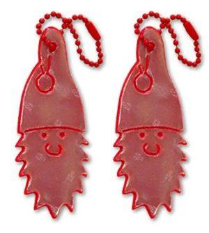 red gnome safety reflectors