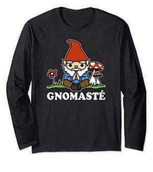 Gnomaste Yoga Gnome Long Sleeve Tee