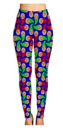 Women's gnome pattern yoga pants