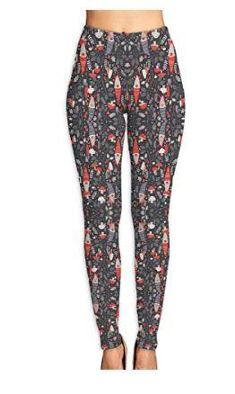 Xayeu Nordic Gnomes Yoga Pants