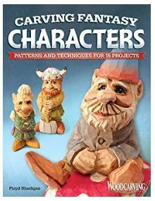 Caricature Woodcarving a Step-by-Step book