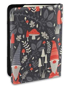 Nordic Gnomes Passport Holder Cover RFID Blocking