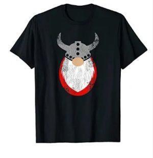 Viking Gnome Vintage Style Tshirt