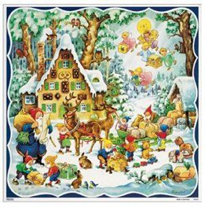 Santa's Elves advent calendar