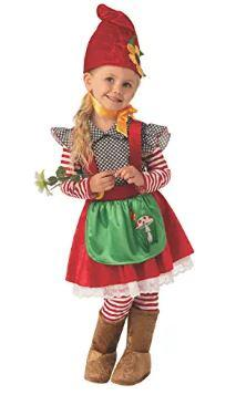 little girl gnome costume