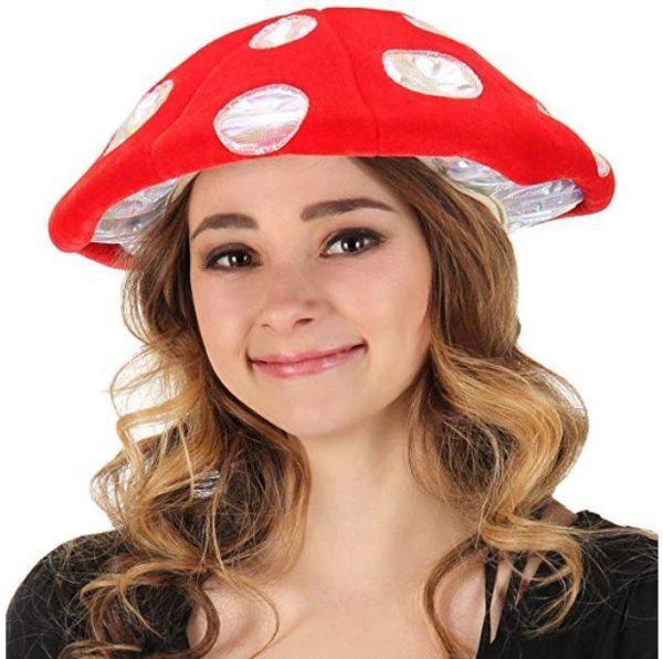 Light up mushroom hat