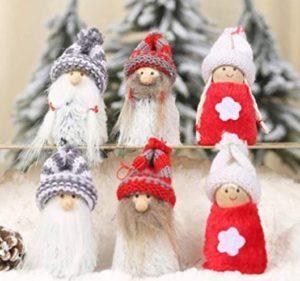 Handmade Gnome Christmas Tree Ornament